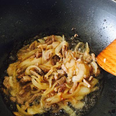 Фото рецепта - Папоротник с мясом по-корейски (Косарича) - шаг 3