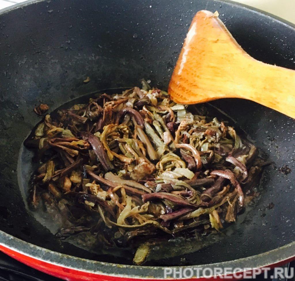 Фото рецепта - Папоротник с мясом по-корейски (Косарича) - шаг 4