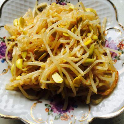 Салат из проростков - рецепт с фото