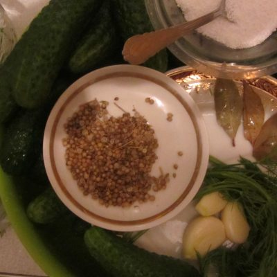 Фото рецепта - Огурцы консервированные, самый легкий способ - шаг 1