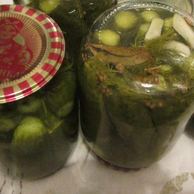 Огурцы консервированные, самый легкий способ - рецепт с фото