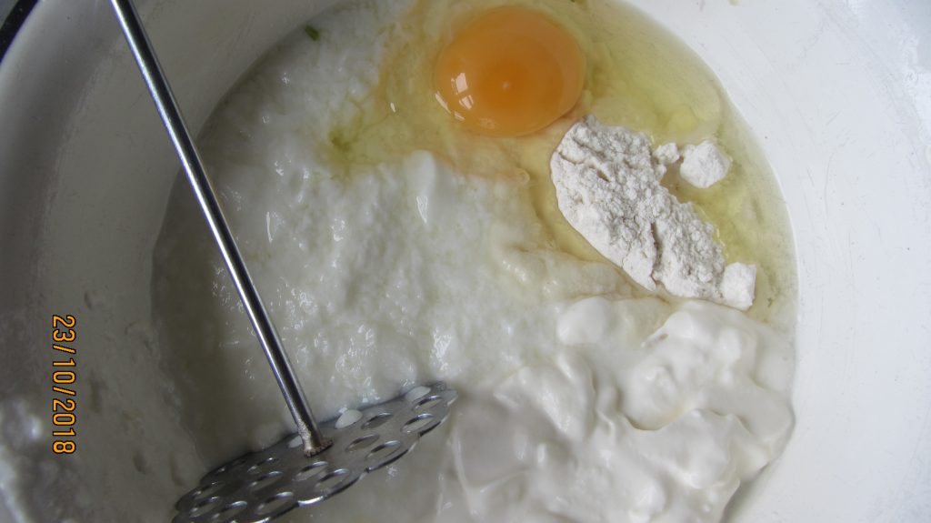 Фото рецепта - Спас на кефире - шаг 2