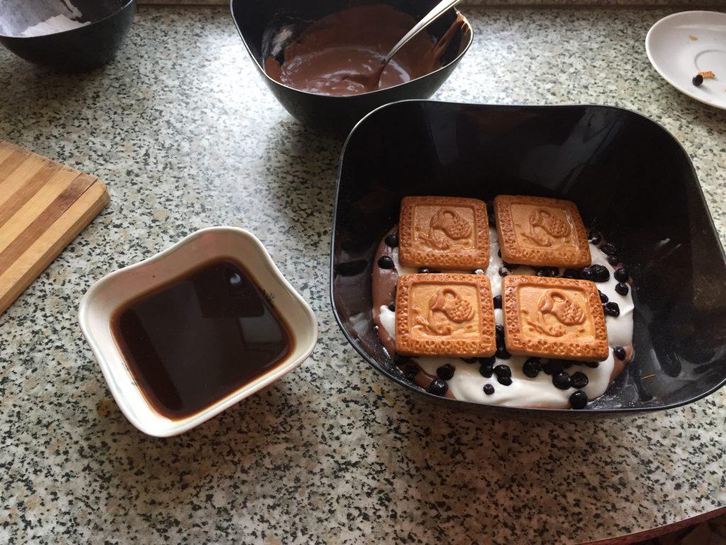 Фото рецепта - Десерт Волшебное Облако без выпечки - шаг 14