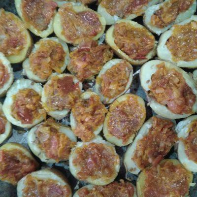 Фото рецепта - Картофельные корзинки с секретом - шаг 6