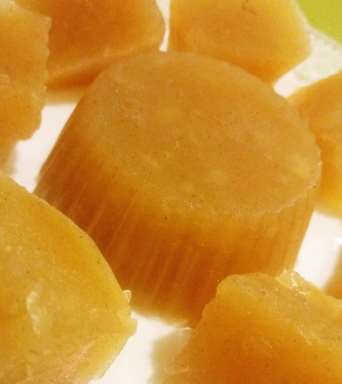 Яблочный мармелад без сахара