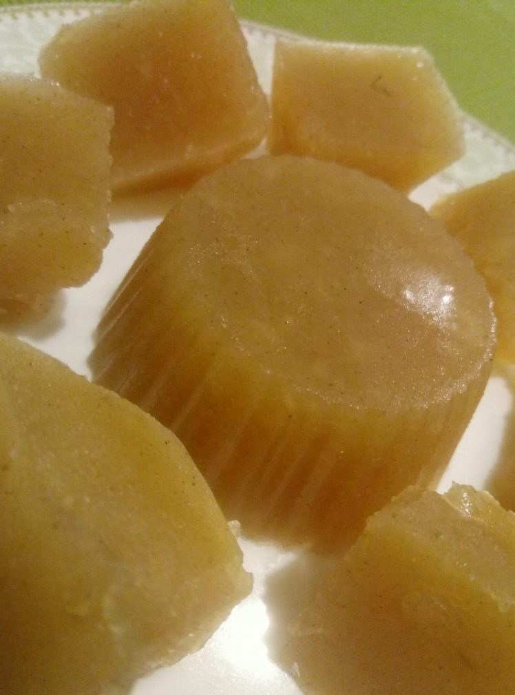 Фото рецепта - Яблочный мармелад без сахара - шаг 4