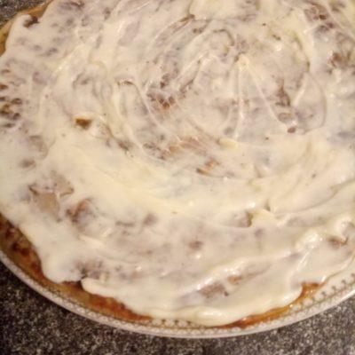 Фото рецепта - Печеночный торт из тонких коржей - шаг 5