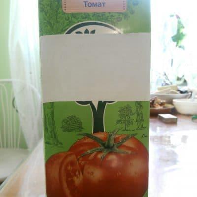 Фото рецепта - Спелые помидоры в томатном соке - шаг 3