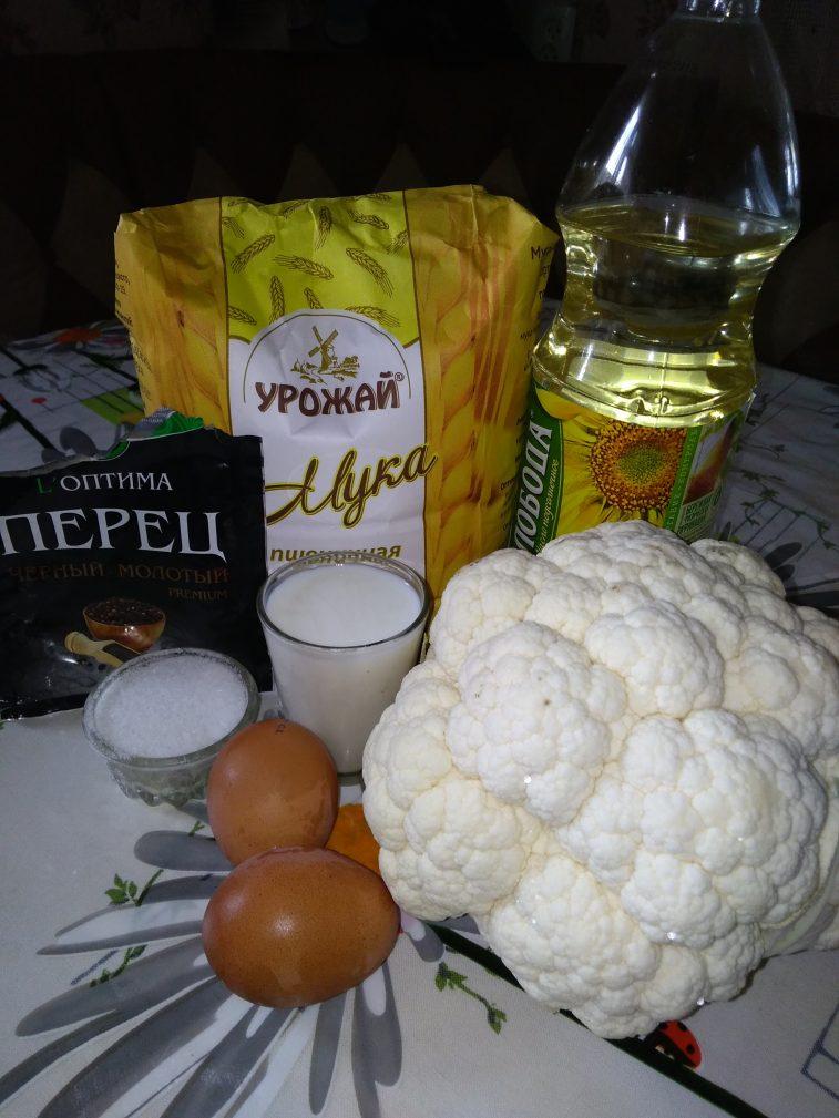 Фото рецепта - Цветная капуста в кляре - шаг 1