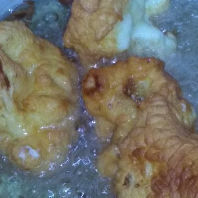 Фото рецепта - Цветная капуста в кляре - шаг 9