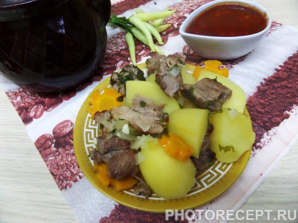 Фото рецепта - Свинина в горшочках - шаг 9