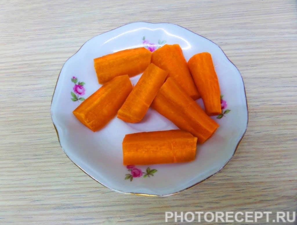 Фото рецепта - Шурпа с бараниной в казане по-узбекски - шаг 5