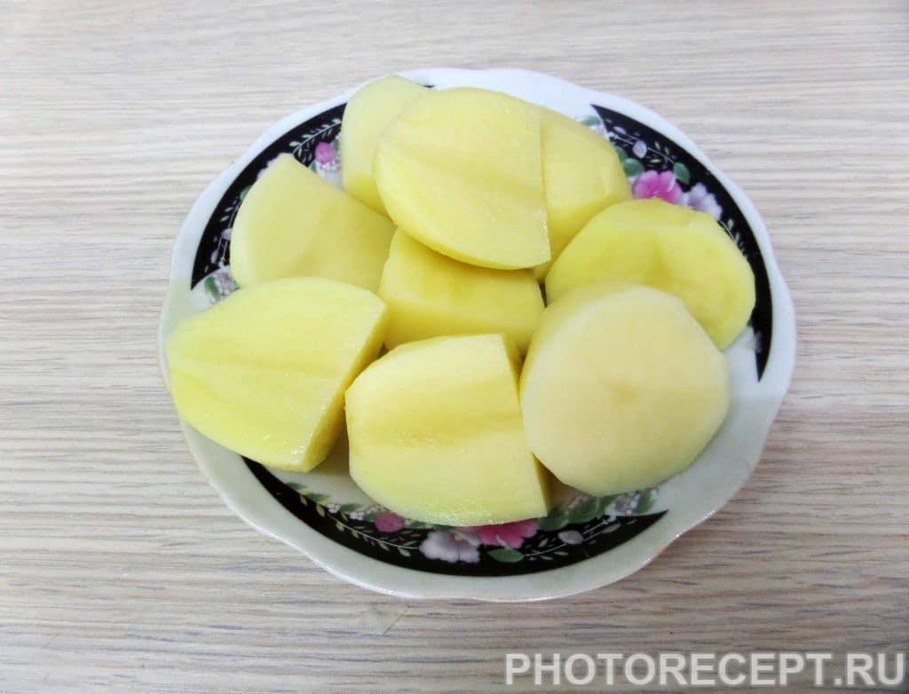 Фото рецепта - Шурпа с бараниной в казане по-узбекски - шаг 8