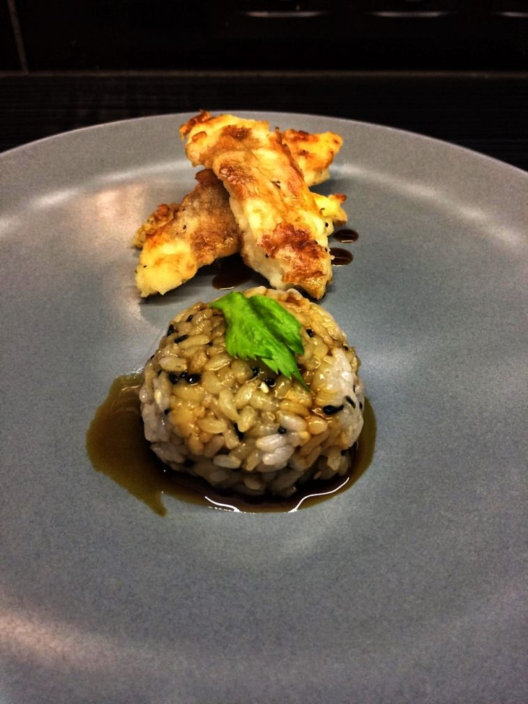 Фото рецепта - Жареная рыба с рисом - шаг 6