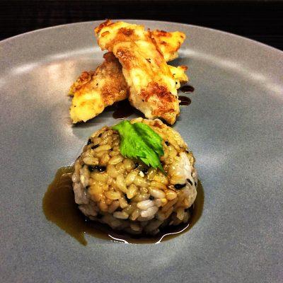 Жареная рыба с рисом - рецепт с фото
