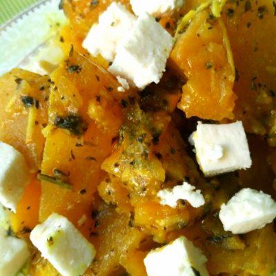 Пряная тыква - рецепт с фото