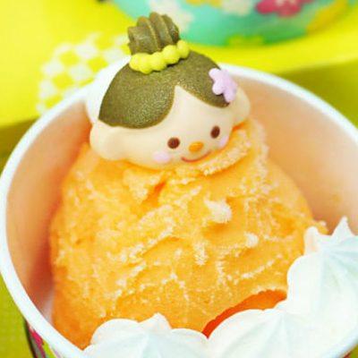 Апельсиновое сорбет-мороженое - рецепт с фото