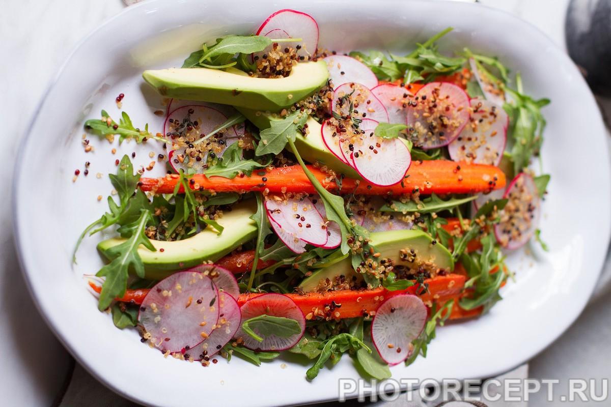 Овощные салаты зимой для похудения рецепты