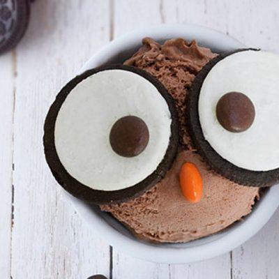 """Домашнее шоколадное мороженое """"Сова"""" - рецепт с фото"""