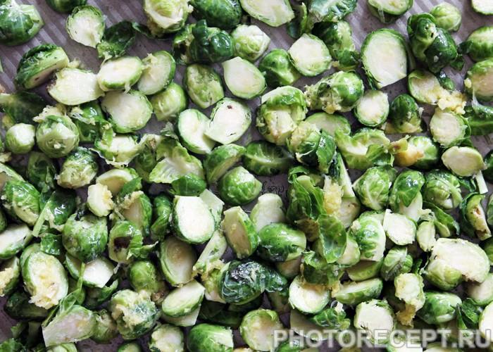 Фото рецепта - Гарнир из брюссельской капусты «Свежесть» - шаг 2