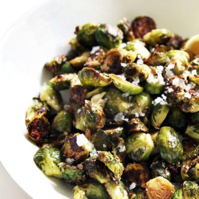 Гарнир из брюссельской капусты «Свежесть» - рецепт с фото