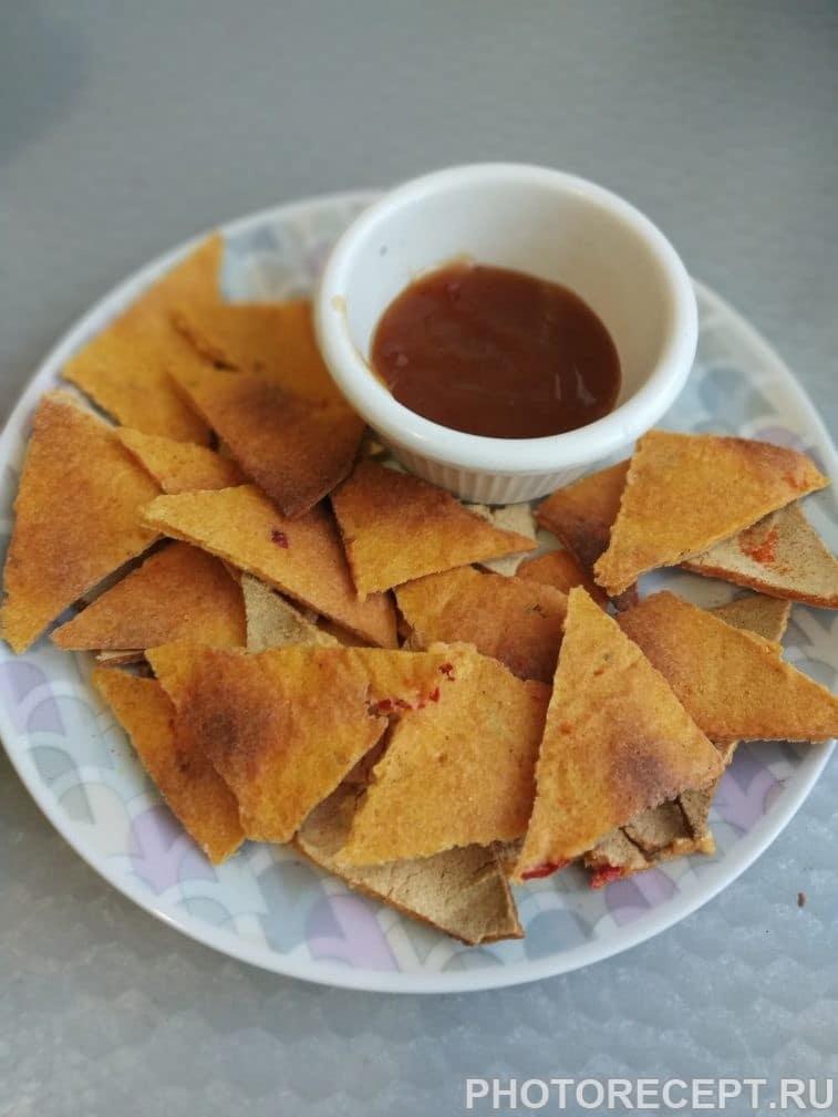 """Фото рецепта - Мексиканские чипсы """"Начос"""" - шаг 5"""