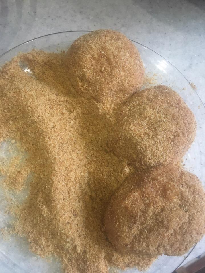 Фото рецепта - Курино-говяжьи котлеты на пару - шаг 4
