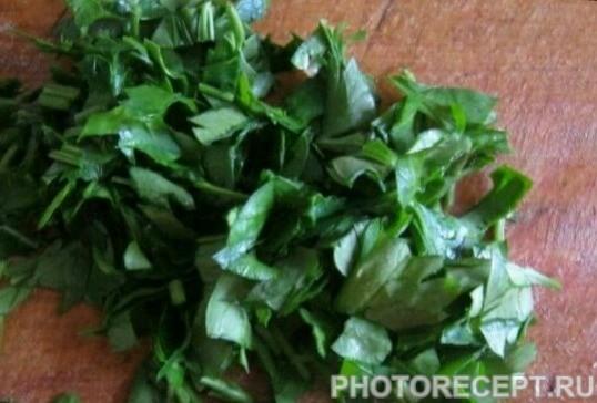 Фото рецепта - Салат с семгой - шаг 3