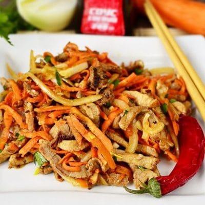 Мясо по-корейски «Хе» - рецепт с фото