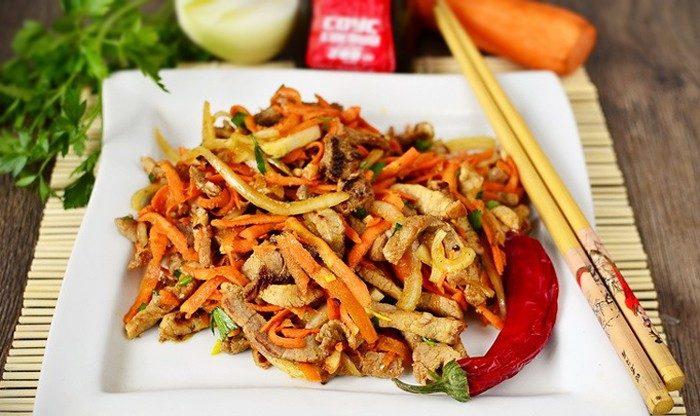 Мясо по-корейски «Хе»