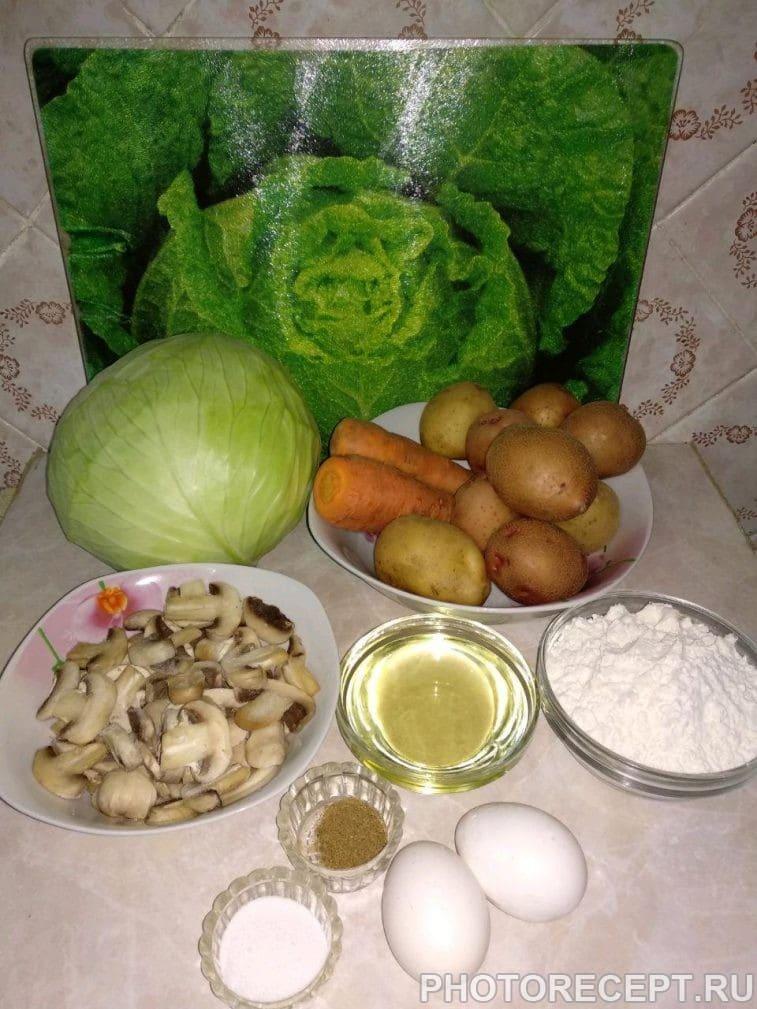 Фото рецепта - Картофельные зразы с капустой и грибами - шаг 1