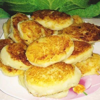 Картофельные зразы с капустой и грибами - рецепт с фото