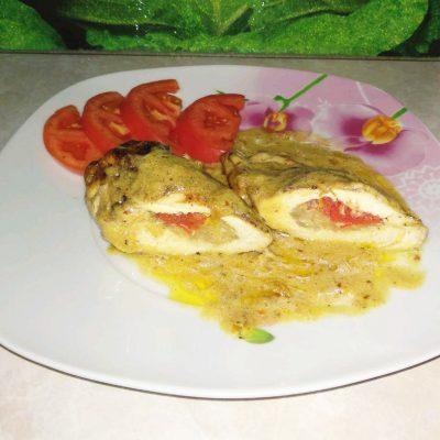 """""""Куриные кармашки"""" или фаршированное куриное филе - рецепт с фото"""