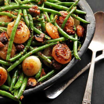 Постная закуска-гарнир из овощей и шампиньонов - рецепт с фото