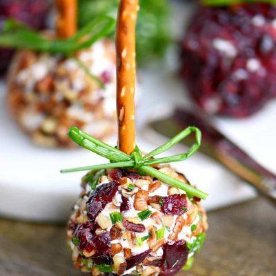 Рождественская закуска из сыра - рецепт с фото