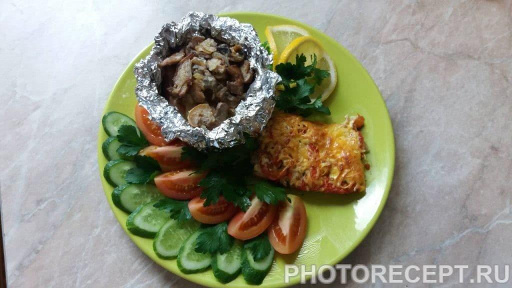 Фото рецепта - Картофель, запеченый в фольге - шаг 6