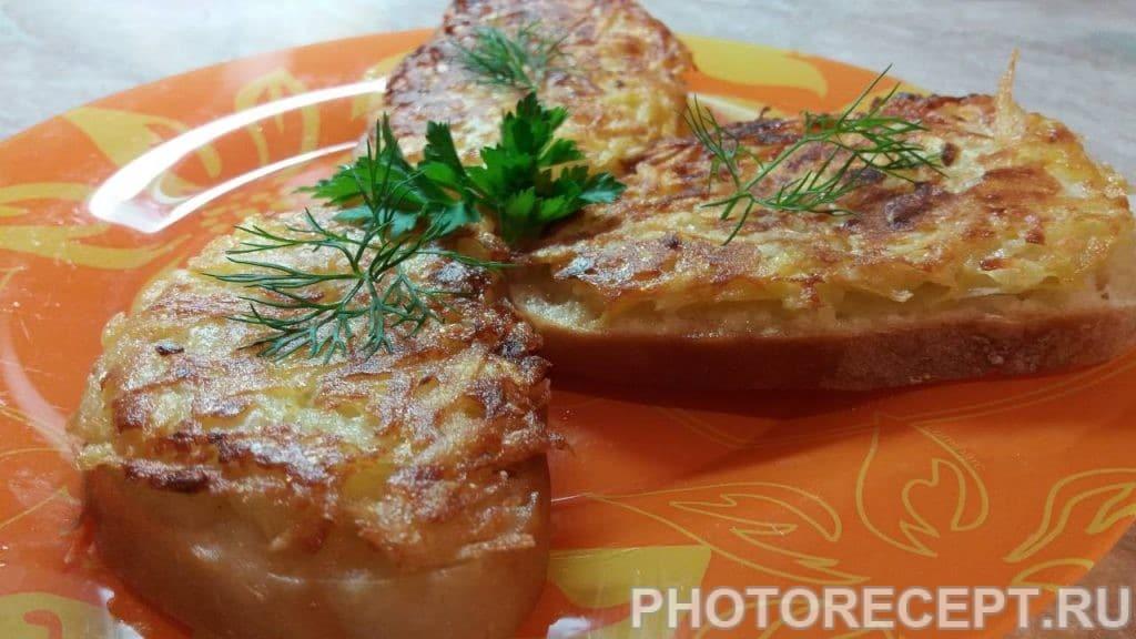 Фото рецепта - Бутерброды – драники - шаг 6