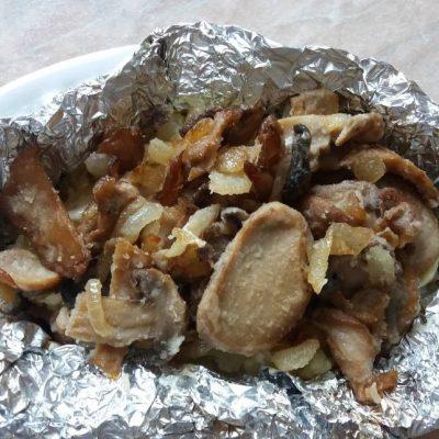 Картофель, запеченый в фольге - рецепт с фото