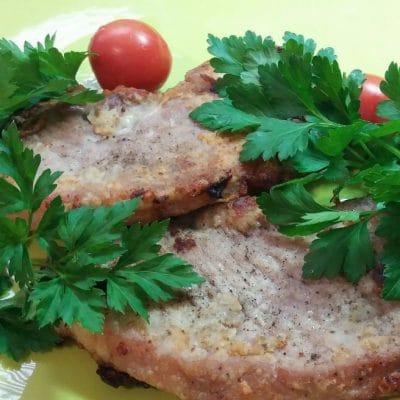 Шницель - рецепт с фото