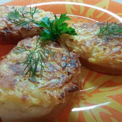 Бутерброды – драники - рецепт с фото