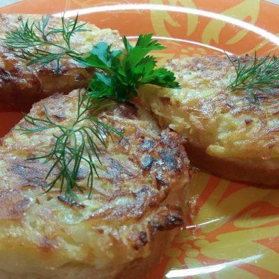 Бутерброды — драники - рецепт с фото