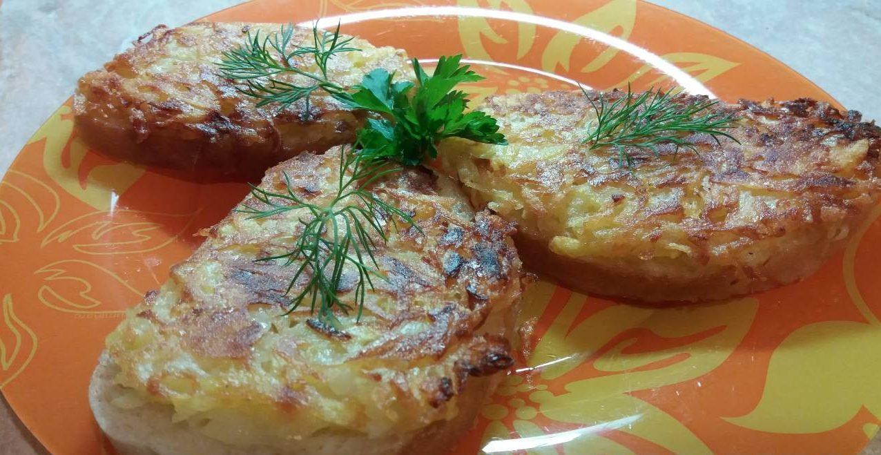 Бутерброды – драники