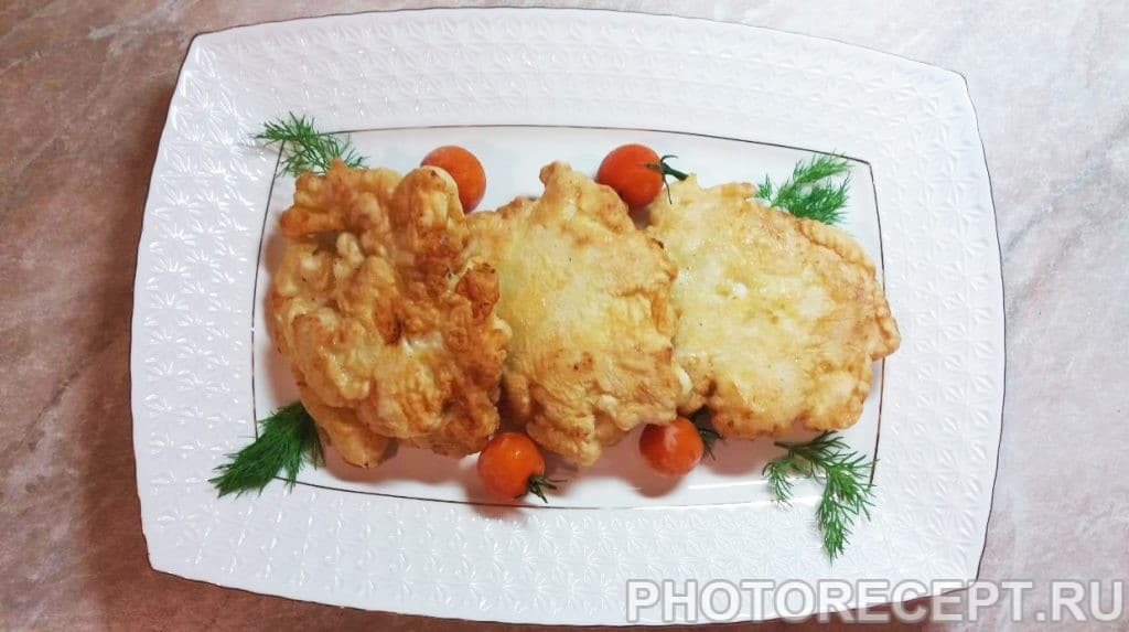 Фото рецепта - Растрёпки – вкусные куриные оладьи - шаг 6