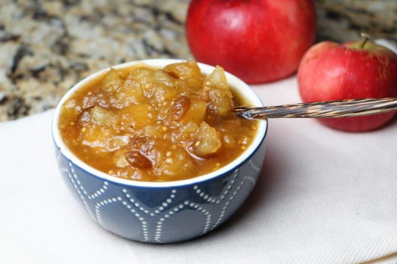 Яблочный чатни – соус