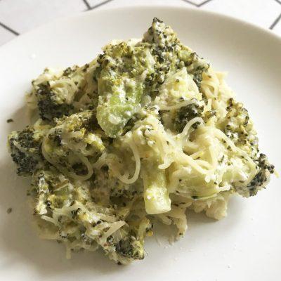 Паста с брокколи в сливочном соусе - рецепт с фото