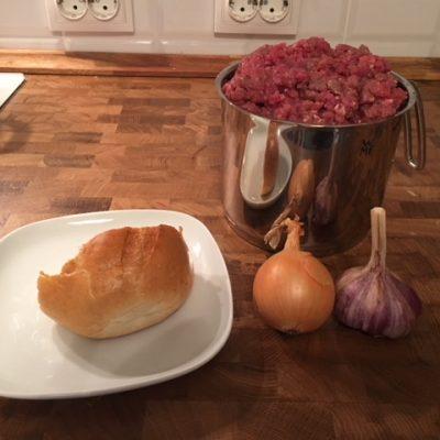 Фото рецепта - Котлеты из говяжьего фарша сочные и воздушные - шаг 1