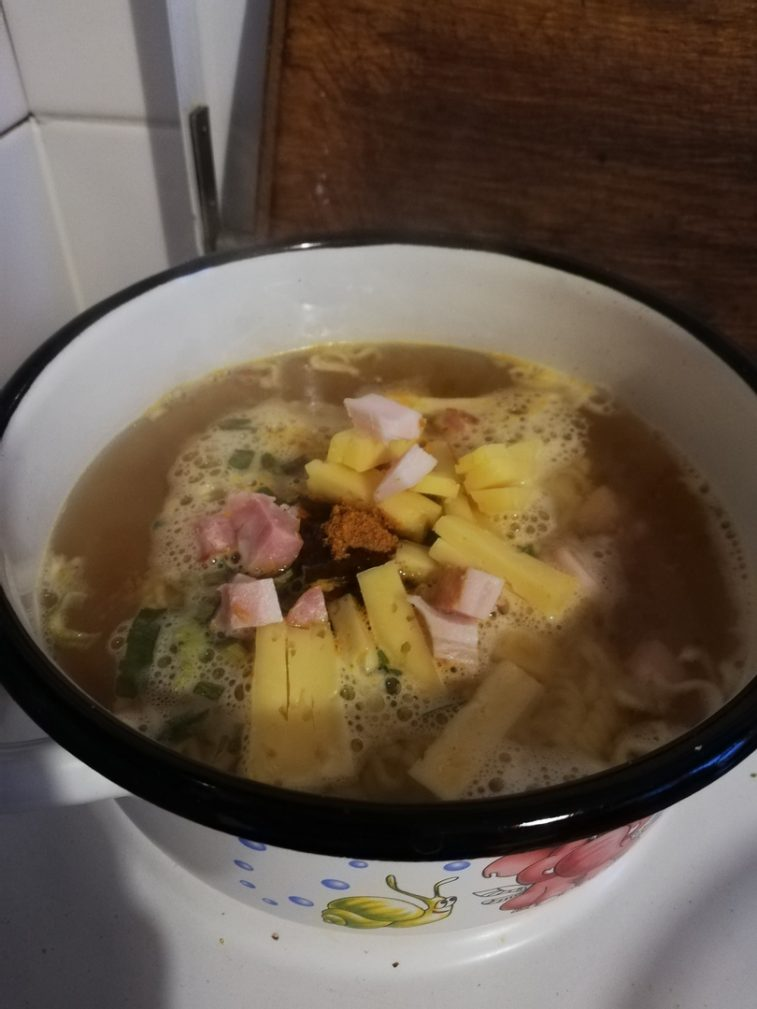 Фото рецепта - Вкусный Чан-Рамен - шаг 8