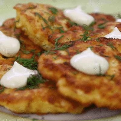 Грибные оладьи - рецепт с фото