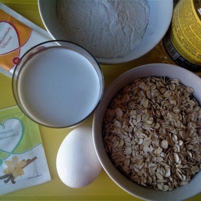 Фото рецепта - Овсяные оладушки - шаг 1