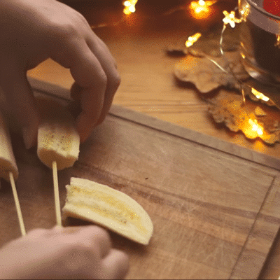 Фото рецепта - Банановые привидения на Хэллоуин - шаг 3